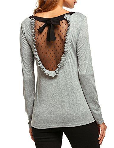 Bow Sleeve Sweater - 4