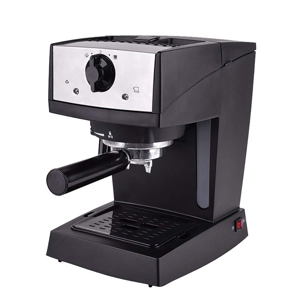 濃縮された半自動コーヒーマシンの家庭の蒸気ミルクフォームマシンポータブルコーヒーマシン   B07J37X3DF