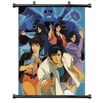 Amazon Com City Hunter Anime Fabric Wall Scroll Poster 32 X 47