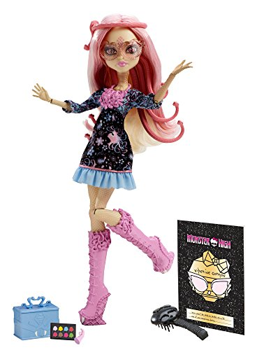 Monster High Frights, Camera, Action! Viperine Gorgon Doll (Discontinued by manufacturer) -