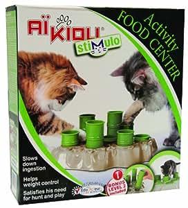 Stimulo Cat Feeding Station and Activity Center: Amazon.ca