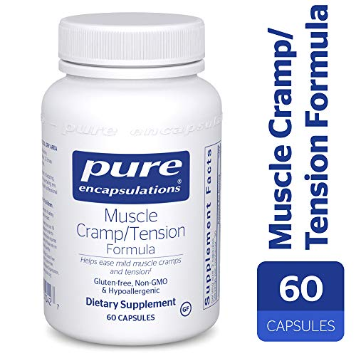 (Pure Encapsulations - Muscle Cramp/Tension Formula - Hypoallergenic Supplement to Reduce Occasional Muscle Cramps/Tension and Promote Relaxation* - 60 Capsules)