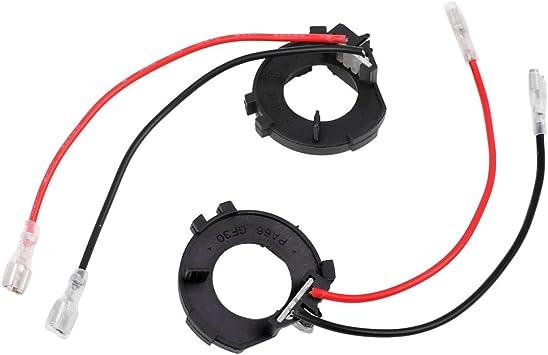 H7 LED Headlight Base Buckle Lamps Bulb Holder Adapter for Car-H7-8
