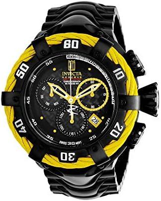 Invicta Men s JT Quartz Watch with Stainless-Steel Strap, Black, 29 Model 22179