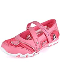 Kids Girls Breathable Sandals Buckle Strap Mesh Princess Walking Shoes Summer