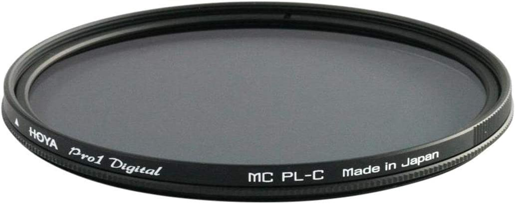 Camera Hoya 55mm DMC PRO1 Digital Multi-Coated CIR-PL Filter.