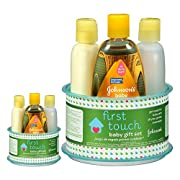 Johnson's First Touch Gift Set, 4 Items (2 Set)