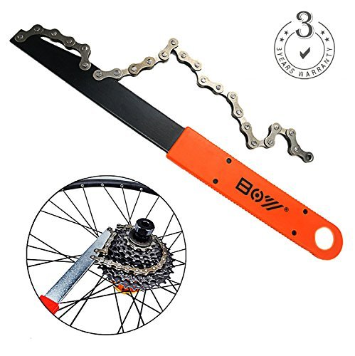 HEYANG Bike Chain Whip Cassette Lockring Tool Chain Removal Cog Sprocket Wrench Tool