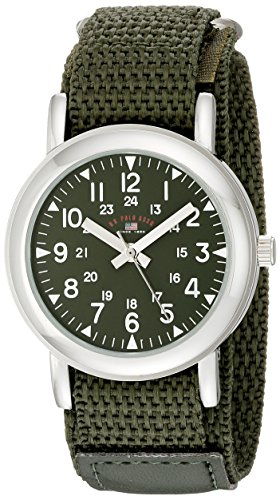 U.S. Polo Assn. Kids' USB75021 Analog Display Analog Quartz Green Watch