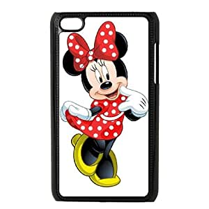 Disney Mickey Mouse Minnie Mouse iPod Touch 4 Case Black Delicate gift JIS_242349