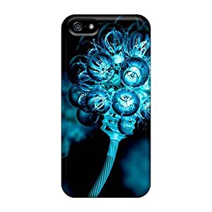 Durable Case For The Iphone 5/5s- Eco-friendly Retail Packaging(electronic Flowers) by Maris's Diary