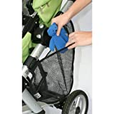 J.L. Childress Side Sling Stroller Cargo Net, Black - 2 Pack