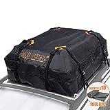 Rooftop Cargo Bag - (15 Cubic Feet) Heavy Duty Roof Bag - 100% Waterproof Excellent...