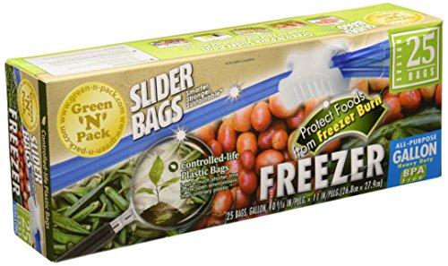 GreenNPack Premium Freezer Slider gallon product image