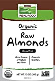 Now Foods Organic Raw Almonds Unsalted 12 oz 340 g
