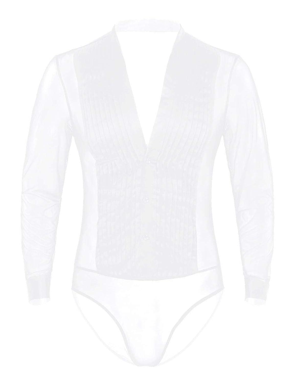 CHICTRY - 3 modelos para hombre - Camisa de latino moderna - Slim ...