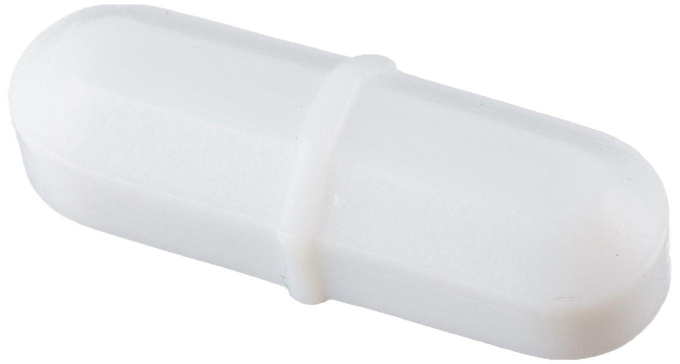 Bel-Art Spinbar Teflon Octagon Magnetic Stirring Bar; 25.4 x 8mm, White (F37110-0001) 371100001