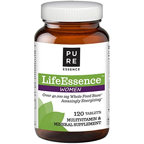 Pure Essence Labs LifeEssence Women's Formula – World's Most Energetic Multiple – The Master Multiple – 120 Tablets Review