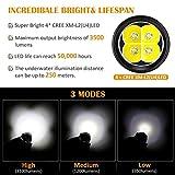VOLADOR Diving Flashlight, 3500 Lumen