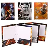 Arts & Crafts : Star Wars 7 Portfolio The Force Awakens - Set of 3 Portfolio 2 Pocket School Folders