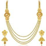 Sukkhi Jewellery Sets for Women (Golden) (3250NGLDPKN1000)