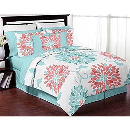 516ahoZs2XL._SS450_ Coral Bedding Sets and Coral Comforters
