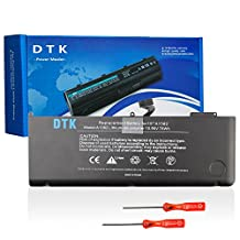 "Dtk Laptop Battery For Apple A1382 A1286 (only for Core i7 Early 2011 Late 2011 Mid 2012) Macbook Pro 15"" . fit 661-5476 661-5211 Free Screwdrivers [Li-Polymer 6-cell 10.95V 78Wh]"