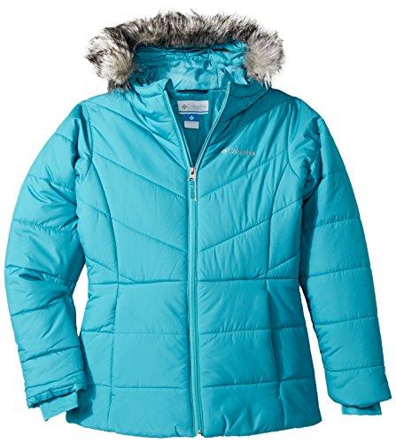 Columbia Big Girls' Katelyn Crest Jacket, Pacific Rim, Medium