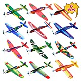 Kissdream 6 Pack 8 Inch Glider Planes - Birthday