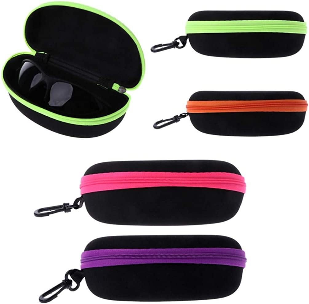 Sunglasses Lense Storage Organizer Holder Box Compression Eyeglass Case Glasses Eyewear Box