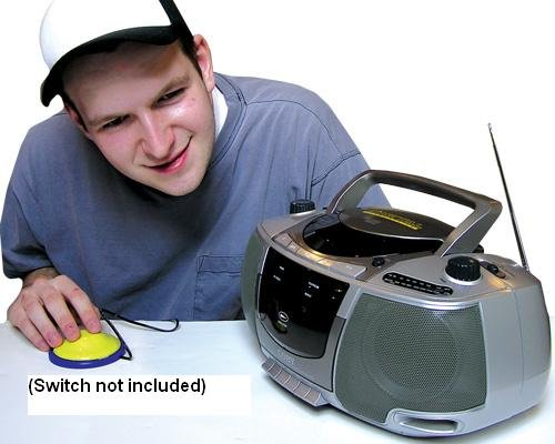Adapted CD Boom Box by Enabling Devices