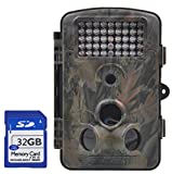 """XIKEZAN Mini Waterproof Trail & Game Camera,12MP 1080P HD Trail Cam with 2.4"""" LCD Screen & 120° Wide Angle Infrared Night Vision Wildlife Hunting Camera"""