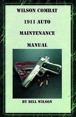 1911 Maint Manual Book