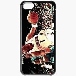 XiFu*MeiPersonalized ipod touch 5 Cell phone Case/Cover Skin Nba basketball athletes atlanta hawks orlando magic tracy mcgrady quentin richardson www.wallmay.net BlackXiFu*Mei