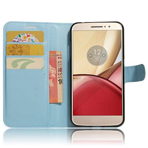 Funda Motorola MOTO M,Manyip Caja del teléfono del cuero,Protector de Pantalla de Slim Case Estilo Billetera con Ranuras para Tarjetas, Soporte Plegable, Cierre Magnético G