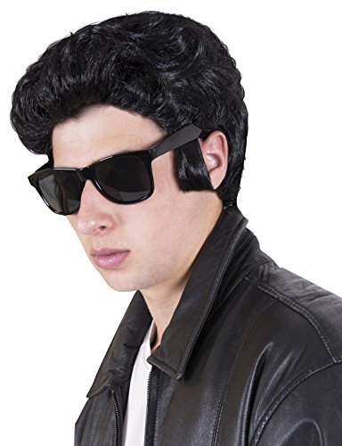Kangaroo's Halloween Accessories - 50's Greaser Wig