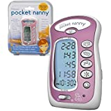 Pocket Nanny By Itzbeen Personal Baby Care Timer (Pink) - Award Winning Must-have for Moms by Itzbeen