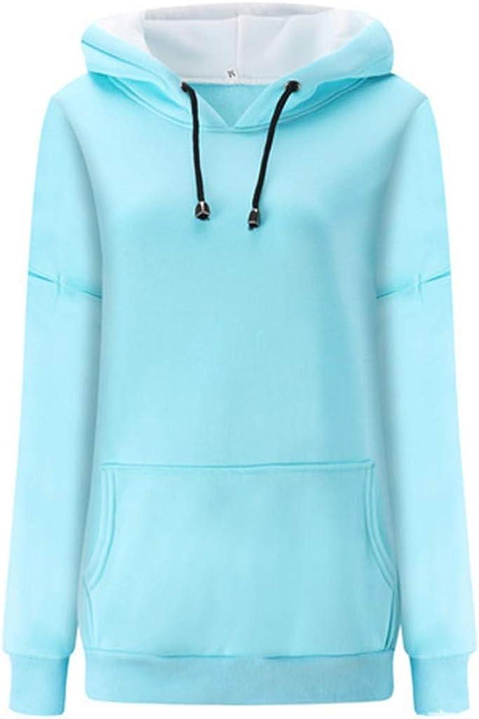 Exteren Womens V-Neck Tops Long Sleeves Chiffon Print Easy Blouse Shirt Sweatshirt