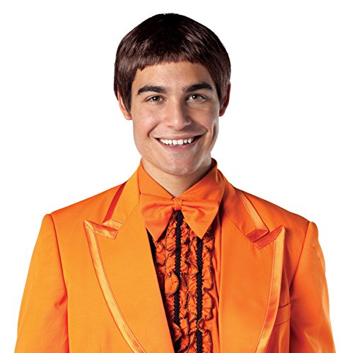 UHC Dumb & Dumber Movie Lloyd Brown Wig Halloween Adult Costume -