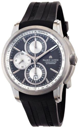 maurice-lacroix-mens-pt6188-tt031830-pontos-pontos-black-silicone-strap-watch