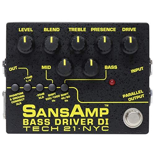 Tech 21 SansAmp Bass Driver DI Effects Pedal from tech21
