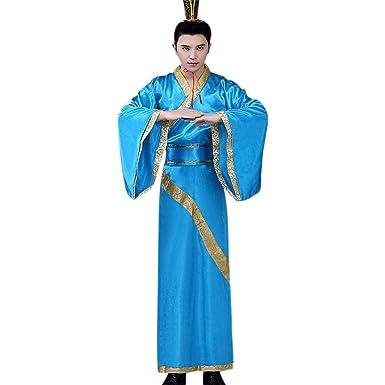 KINDOYO Traje Chino Tradicional - Adulto Hanfu Estilo Chino ...