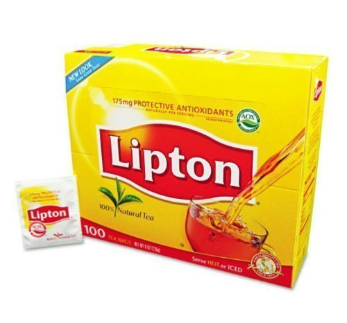 Lipton Regular Tea Bags, 100ct