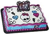 Decopac Monster High Frame and Skullette DecoSet, Black/Hot Pink/White, Health Care Stuffs