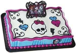 Monster High Frame and Skullette DecoSet Cake Decoration