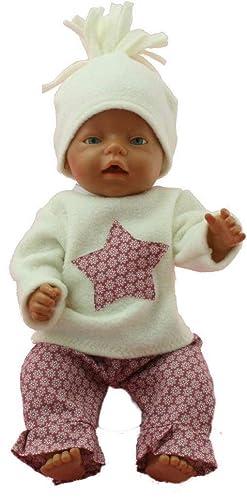 Kleidung & Accessoires Puppen & Zubehör Puppenkleidung für Baby Born 43cm  Süßer Overall mit Mütze