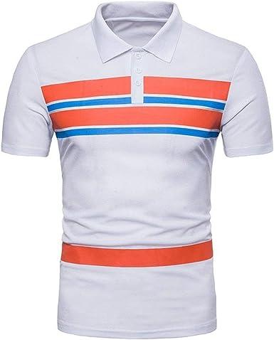 Camisa De Polo para Hombre De Verano Casual Mode De De Camisa ...
