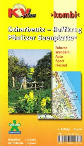 Scharbeutz - Haffkrug - Pönitzer Seenplatte: 1:15.000 Gemeindeplan mit Freizeitkarte 1: 25.000 incl. Rad- und Wanderwegen