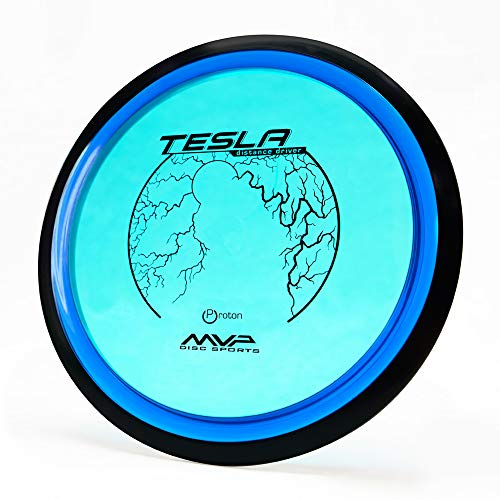 MVP Disc Sports Proton Tesla Disc Golf Distance Driver (170-175g / Colors May Vary)