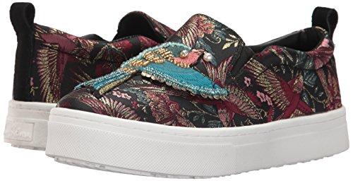 Sneaker Black Sam Leila Women''s Edelman Jacquard multi qwaRO6nUa